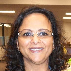 Portrait Image of Ms. Bhagat